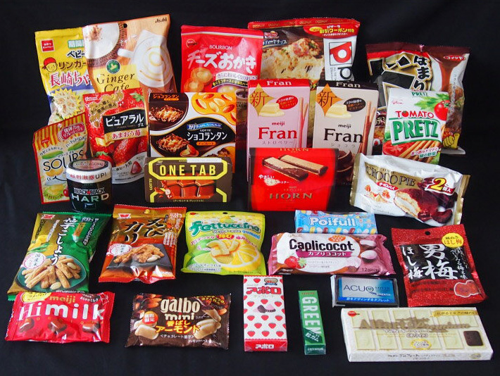 Popular Japanese Snacks