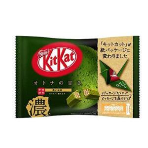 KIT KAT DARK GREEN TEA