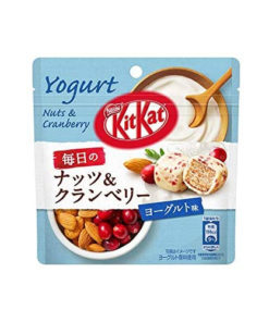 KIT KAT BALLS NUTS AND CRANBERRIES YOGURT