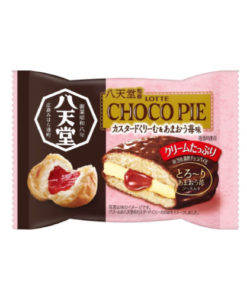 CHOCO PIE CUSTARD CREAM AND STRAWBERRY