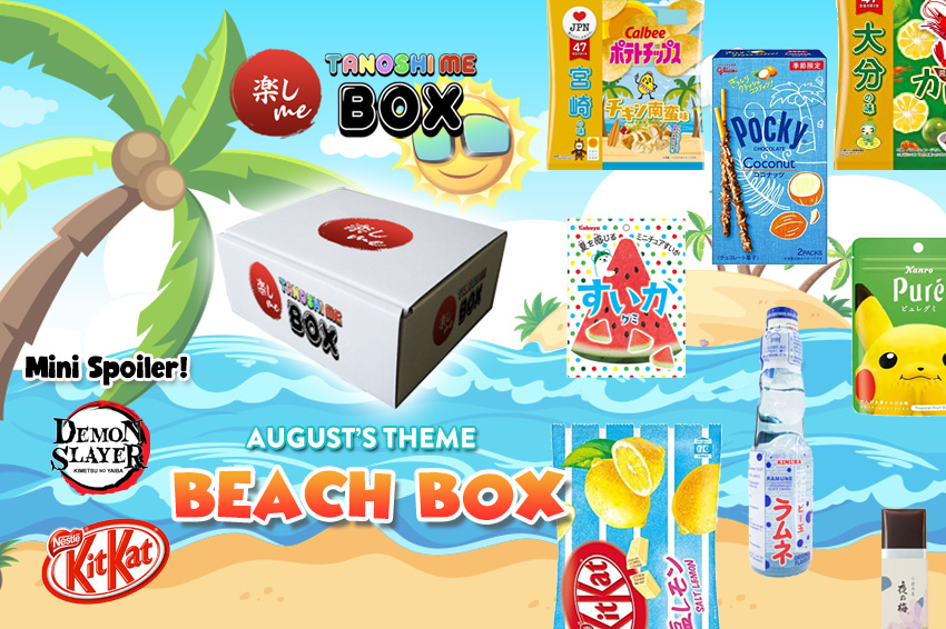 Tanoshi Me Box August