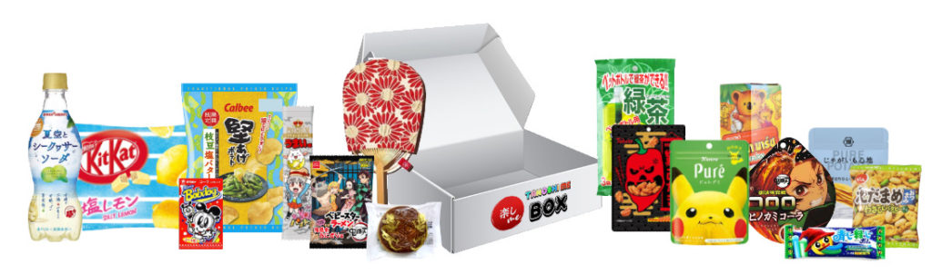 Tanoshi Me Box August Japanese Snack Box