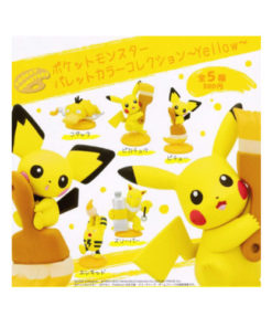 GACHAPON POKEMON MONSTER PALETTE COLOR COLLECTION - YELLOW
