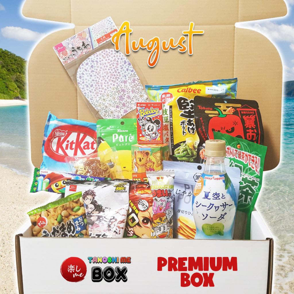 Japanese Subscription Box Tanoshi Me August