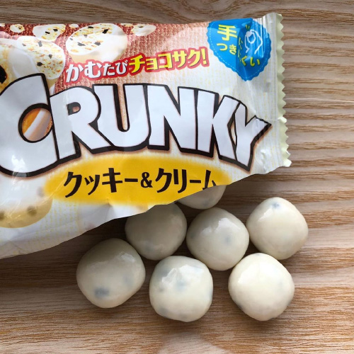 CRUNKY COOKIE & CREAM