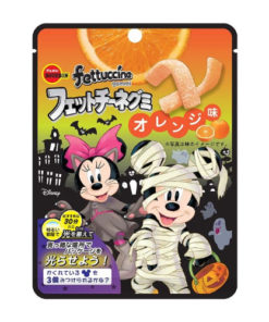 FETTUCCINE GUMMY ORANGE HALLOWEEN