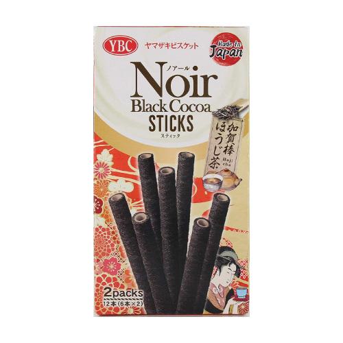 NOIR BLACK COCOA STICKS HOJI CHA