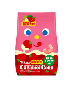 CARAMEL CORN CONDENSED MILK STRAWBERRY