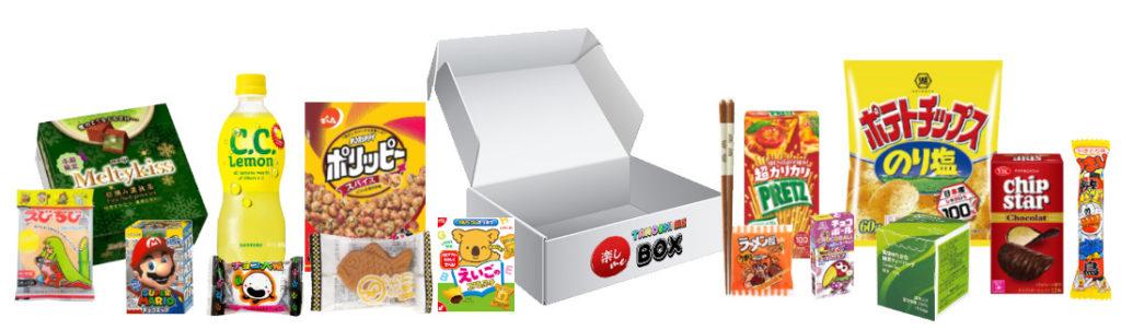Tanoshi Me Box January