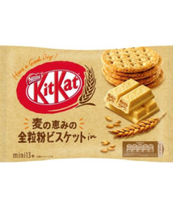 KIT KAT WHOLE WHEAT FLOUR BISCUIT